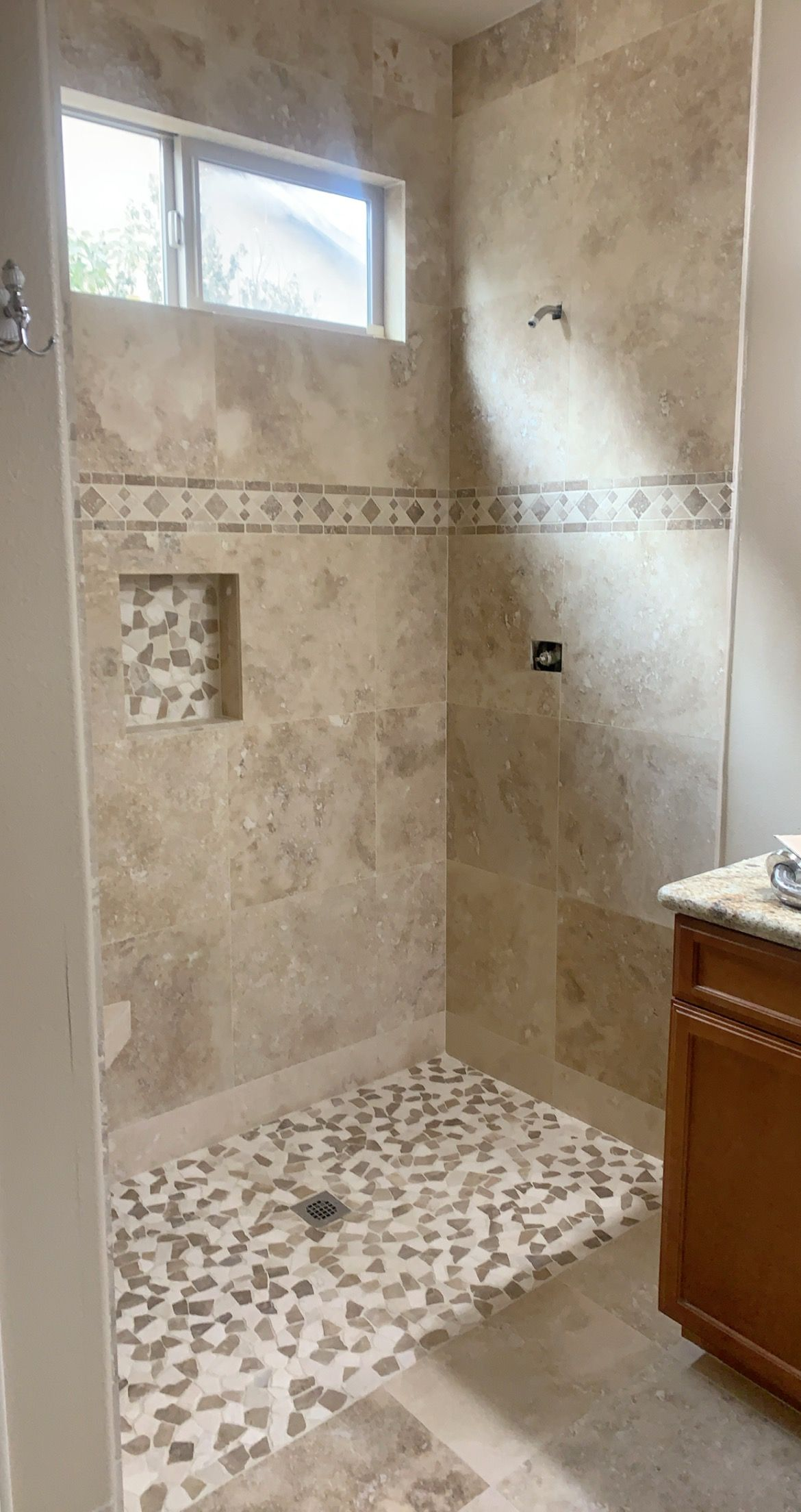 porcelain shower